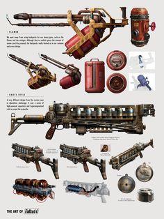 Fallout weapon blueprint