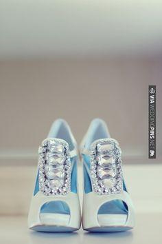 glitzy shoes, anyone? Vanessa Joy | CHECK OUT MORE IDEAS AT WEDDINGPINS.NET | #weddings #bluewedding #blue #theblues #events #forweddings