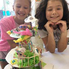 Now we have an LOL treehouse! These kiddos have been super amazing this week! . . . #beesandquotes #amazingkids #kidsart #alapharetta #jounscreek #smile #johnscreekkids #loldolls #lolsurprise #unicorn #treehouse #dollhouse #kidscreate #imagination #smiles #happy #bff #kiddos #decatur #suwanee #house #tinyhome #lol #processoverproduct #processart #childrensart #kidsartstudio #unicorndolls #laughter