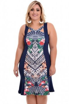 Vestido Plus Size Ana Clara