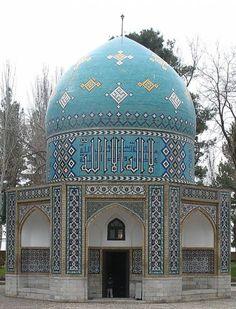 Attar Mausoleum ( Nishapur ) http://www.iranparadise.com/en/gallerygroup/gallery/34