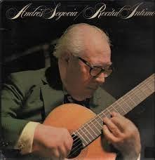 Andres Segovia - Andrés Torres Segovia, marqués de Salobreña (né le 21 février 1893 à Linares, Espagne – mort le 2 juin 1987 à Madrid1) est un guitariste classique espagnol.  Virtuose de la guitare, en reconnaissance de ses apports à la musique et aux arts, Segovia fut anobli le 24 juin 1981 par le roi d'Espagne Juan Carlos qui l'éleva au rang de premier marquis de Salobreña. Son nom devint formellement El señor don Andrés Torres Segovia, marqués de Salobreña ♡