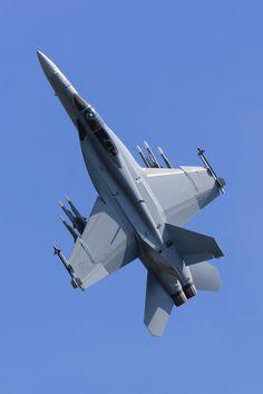Super Hornet - A Boeing F/A-18 Super Hornet at RIAT.