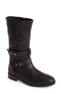 Steve Madden 'Kristenn' Leather Moto Boot (Women) available at #Nordstrom