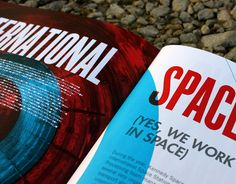 Kennedy Space Center Annual Report by Cassie Stegman, via Behance