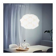 """IKEA - FILLSTA, Pendant lamp, 19 """", , Diffused light that provides good general light in the room."""