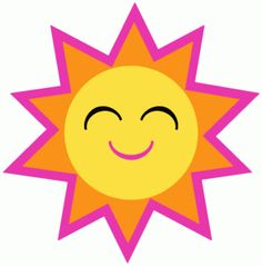 free sun clipart images free to use public domain sun clip art rh pinterest com sunshine clipart pictures sunshine clip art footers