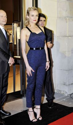 Diane Kruger wearing a Jason Wu Jumpsuit in London at the 180 YEARS OF JAEGER-LE-COULTRE event.