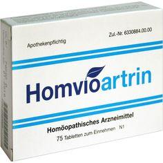 HOMVIOARTRIN Tabletten:   Packungsinhalt: 75 St Tabletten PZN: 00380089 Hersteller: Homviora Arzneimittel Dr.Hagedorn GmbH & Co Preis:…