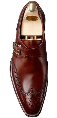 Chadwick Chestnut Calf | Crockett & Jones