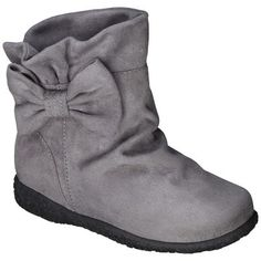 Toddler Girl's Cherokee® Jayda Boot - Grey : Target Mobile