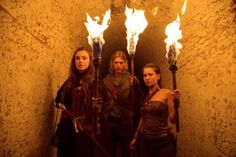 Amberle, Wil and Eretria in The Shannara Chronicles