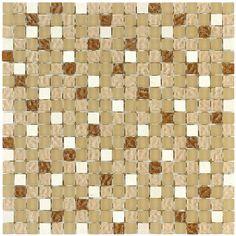 #Aparici #Mosaico #Daily Brown 31x31 Cm | #Porcelain Stoneware | On #
