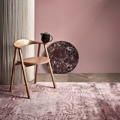 Buy Bolia Swing Dining Chair online with Houseology's Price Promise. Full Bolia collection with UK & International shipping. Oak Dining Chairs, Dining Arm Chair, Oak Bedroom, Bedroom Decor, Deco Rose, Funky Chairs, Spot Light, Pink Carpet, Danish Furniture