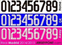 Real Madrid Font 2014-2015 (.ai file)