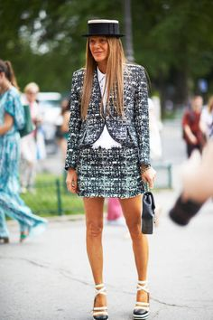 Street Chic: Amazing street style at Paris couture