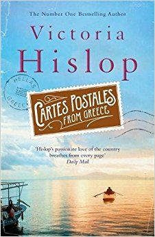 Cartes Postales from Greece by Victoria Hislop: Week after week, the postcards arrive, addressed to a name Ellie does not know, with no return address, each signed with an initial: A. With their bright skies, blue seas and alluring images of Greece, these cartes postales brighten her life. Then a notebook arrives, telling the story A's odyssey through Greece. Moving, surprising and sometimes dark, A's tale unfolds with the discovery of a culture and the desire to live life to the full.