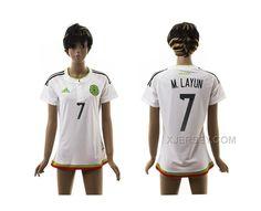 http://www.xjersey.com/201516-mexico-7-mlayun-away-thailand-women-jersey.html Only$35.00 2015-16 MEXICO 7 M.LAYUN AWAY THAILAND WOMEN JERSEY Free Shipping!
