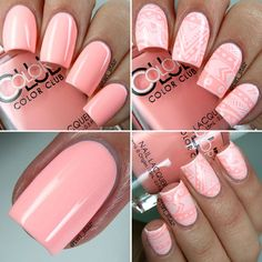 Color Club Poptastic Pastel Neon Swatches Hot Hot Hot Pants @colorclubpolish #PoptasticPastelNeon