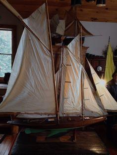 """Gaff rig schooner """"Prospero"""" : Y, Christibys"""