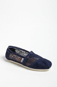 TOMS 'Classic' Crochet Slip-On (Women) available at Nordstrom
