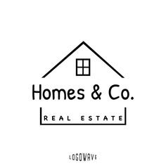 Home Logo Design House Logo Real Estate Logo Home Decor Logo