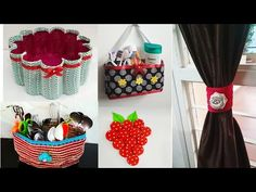 5 Bottle craft ideas best out of waste plastic bottle craft ideas DIY organizer ideas - Free Online Videos Best Movies TV shows - Faceclips Reuse Plastic Bottles, Plastic Bottle Crafts, Recycled Bottles, Plastic Waste, Diy Home Crafts, Diy Arts And Crafts, Cute Crafts, Crafts For Kids, Diy Organizer