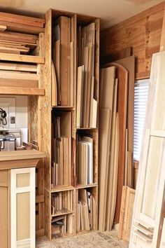 Lumber storage rack-The first thing I've pinned that I can ...