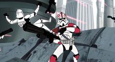 Clone Wars animated series: Commander Fordo