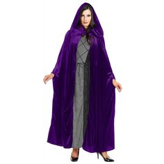 Panne Velvet Hooded Cloak Costume Accessory - One Size - Chest Size 40-44 -- Tried it! Love it! Click the image. : Baby halloween costumes