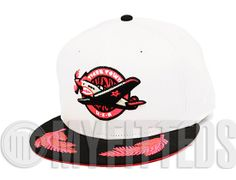 Custom Lakeland Flying Tigers New Era 59Fifty Fitted Cap to match AJ VI