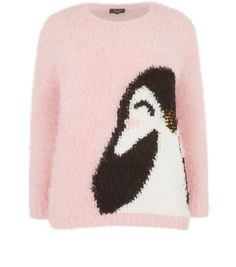 "Inspire. For a more subtle Christmas jumper try this sweet penguin number, great for wearing all throughout winter.- Soft fluffy finish- Penguin front print- Simple long sleeves- Casual fit- Round neck- Model is 5'9""/180cmInspire is created for women of size 18 to 28/EU 46 to 56**Selected styles are available up to size 32/ EU 60"