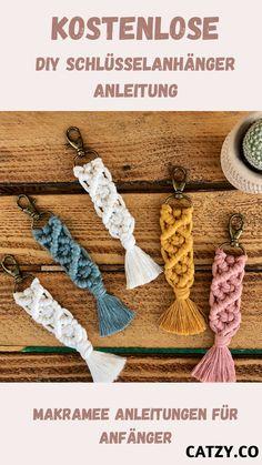 Fun Crafts, Arts And Crafts, Trending Crafts, Macrame Projects, Hacks Diy, Craft Work, Diy Kits, Diy Jewelry, Crochet Earrings