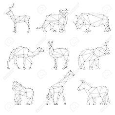 Geometric design silhouette - Pesquisa Google