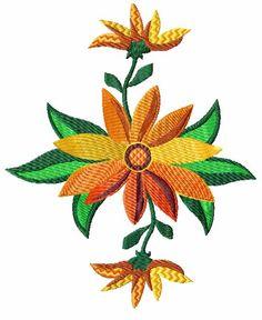 Summer Flowers 12 Machine Embroidery Designs Set   eBay