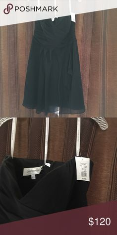 Braids maid dress Black, knee length paid $139.95 plus tax willing to sell for $120 obo Dresses Wedding