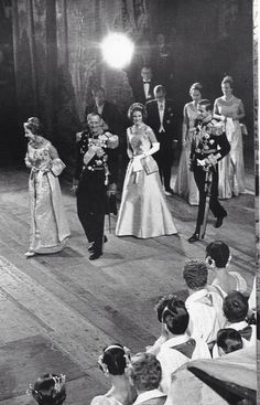 Pre wedding gala of Constantine and Anne- Marie 1964