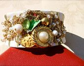 Repurposed Jewelry Cuff