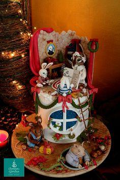 """"""" A Christmas Carol"""" - by christiangiardina @ CakesDecor.com - cake decorating website"""