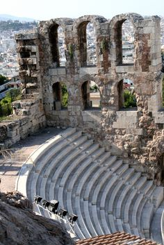 Herothion Theater, Athens, Greece. I can't wait to take my own pictures.