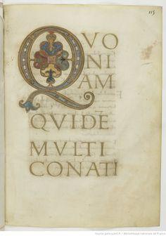 Evangelia quattuor [Évangiles dits de Hurault] (1r-216r). Capitulare evangeliorum (217r-234r). -- 825-850 -- manuscrits