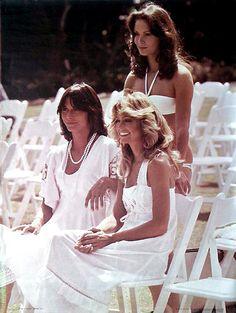 Farrah Fawcett, Jaclyn Smith & Kate Jackson...Charlie's Angels...forever!