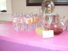 Arnold Palmer Sip and See Drink Station
