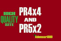 give you 2xPR5 and 4xPR4 blogroll permanently by ademsari800