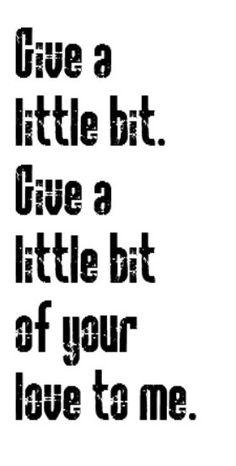 Supertramp - Give a Little Bit - song lyrics music lyrics
