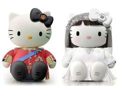 Remixed Pop Culture Felines - Advertising Art Director Joseph Senior Gives Hello Kitty a Fresh Take (GALLERY)