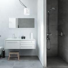 VIPP 982 - module pour salle de bain avec un placard, deux tiroirs, un lavabo et un robinet intégrés #white #design #bathroom #home #decoration