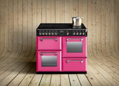 The Stoves Richmond range cookers are available in pink, part of the Colour Boutique collection.