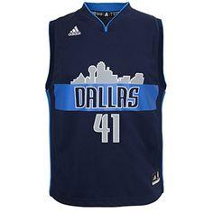 a7c9b83e2 NBA Dallas Mavericks Dirk Nowitzki  41 Youth Replica Alternate Jersey