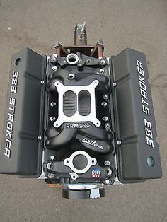 450 HP 383 Chevy Stroker Engine / Motor with Edelbrock heads